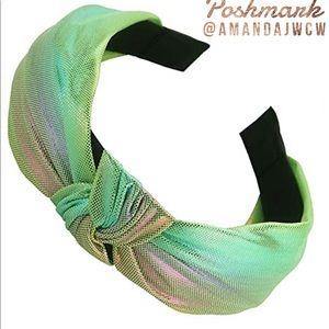 Mermaid Unicorn Metallic Rainbow Headband Option 8